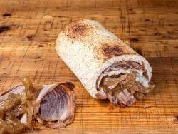 sandwich, rollo, pan, tramezzini, roast, beef, wasabee, magasand,