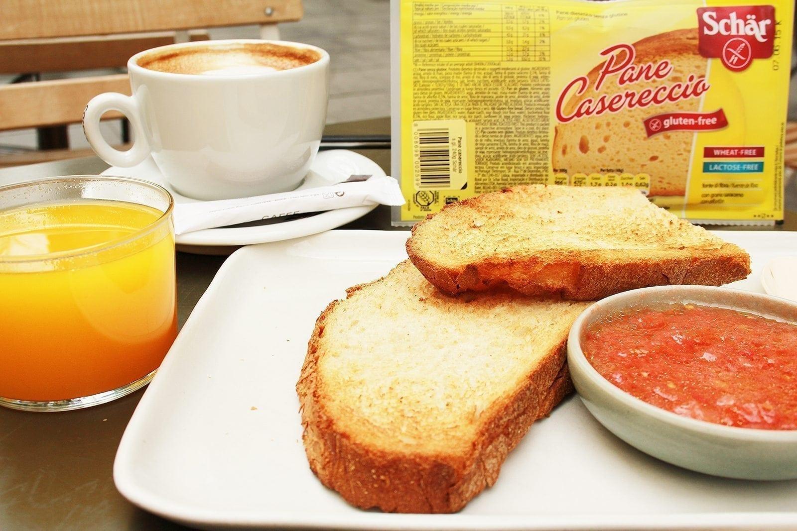 Desayuno Gluten Free