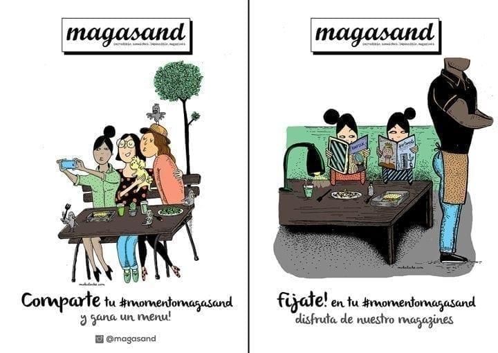 Imagen corporativa de Magasand